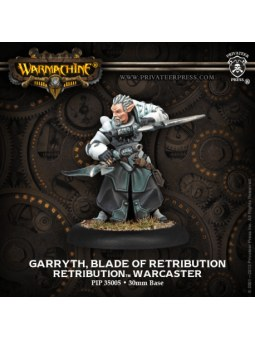 Retribution Garryth, Blade Warcaster warmachine