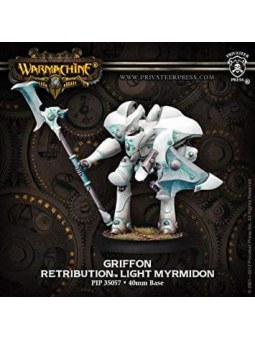 Retribution Griffon Light Myrmidon warmachine