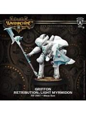 Retribution Griffon Light Myrmidon warmachine