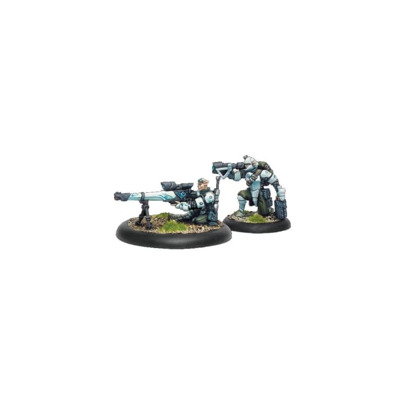Retribution Heavy Rifle Team Weapon Crew warmachine