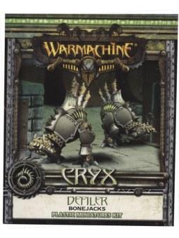 Cryx Defiler Bonejacks warmachine