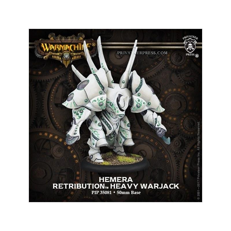Retribution Hemera Heavy Warjack warmachine