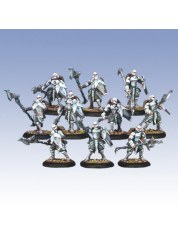 Retribution Houseguard Halberdiers Unit warmachine