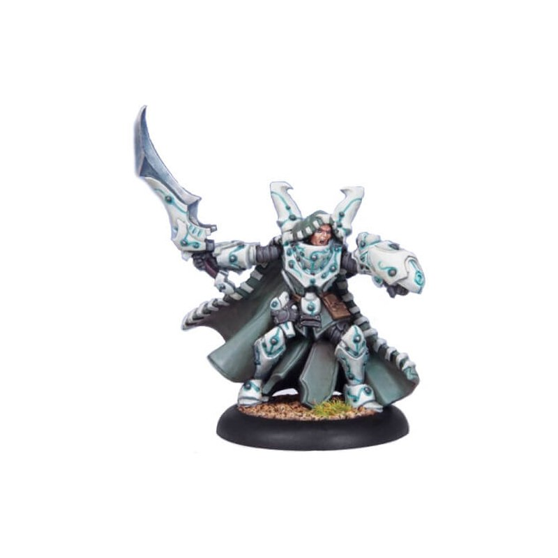 Retribution Lord Arcanist Ossyan Warcaster warmachine