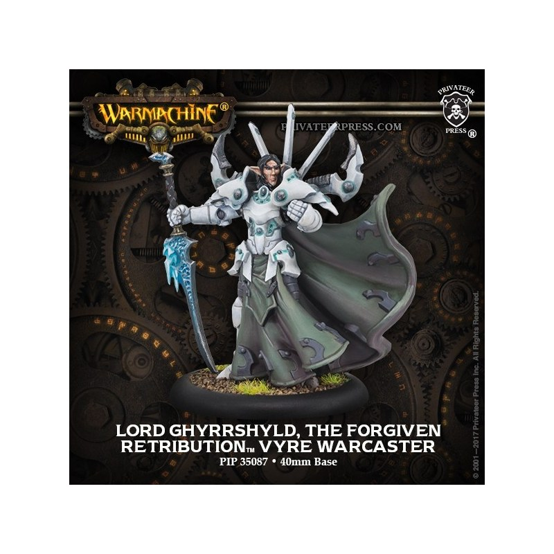 Retribution Lord Ghyrrshyld Warcaster warmachine