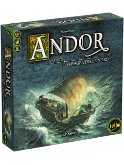 Andor Extension: Voyage Vers le Nord jeu