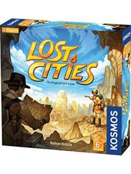 Lost Cities Card Game with 6 Expedition jeu