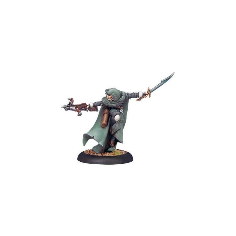 Retribution Mage Hunter Commander warmachine