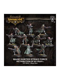 Retribution Mage Hunter Strike Force Unit warmachine