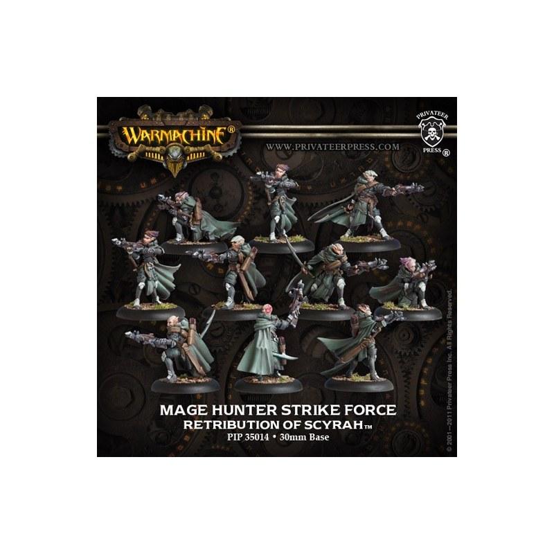 Retribution Mage Hunter Strike Force Unit warmachine