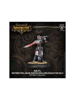 Retribution Nayl Character Solo warmachine