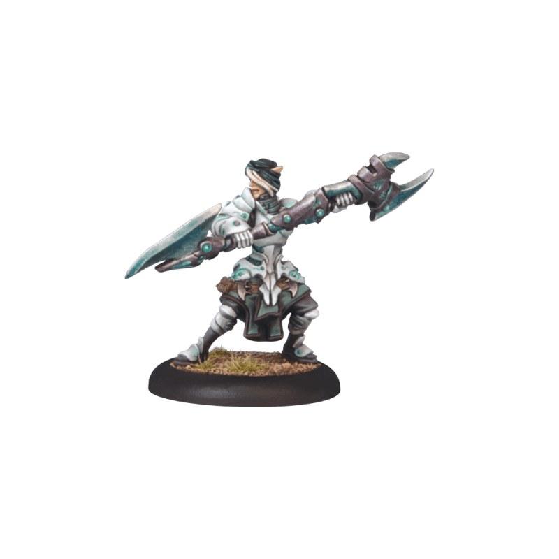 Retribution Ravyn, Eternal Light Warcaster warmachine