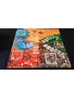 Lost Cities Board Game plateau