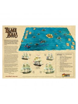 Black Seas: Master & Commander starter set contenu