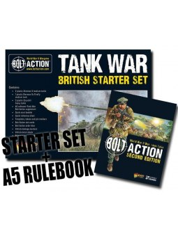 Tank War British starter set bolt action