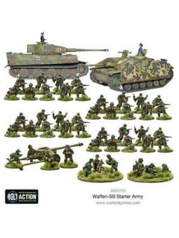 Waffen SS Starter Army figurines