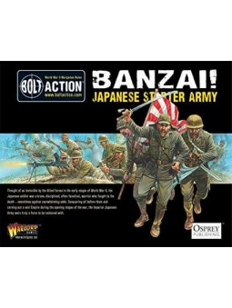 Banzai! Japanese Starter Army bolt action