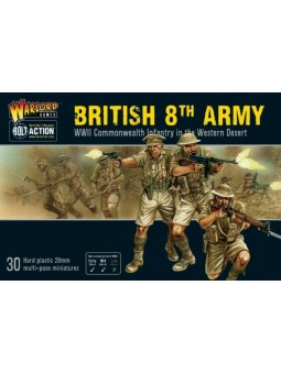 8th Army Infantry Bolt Action