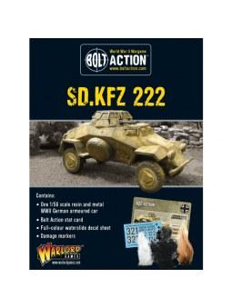 Sdkfz 222 Armoured Car Bolt Action