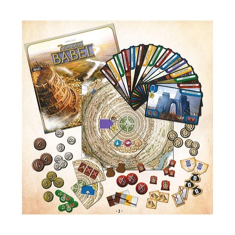 7 Wonders Extension Babel jeu
