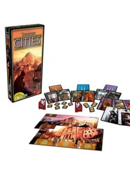 7 Wonders Extension Cities jeu