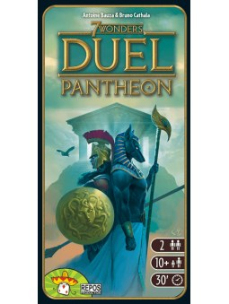7 Wonders Duel Pantheon jeu