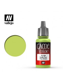 Vallejo: Game Color Fluo Green (17ml)