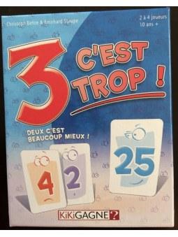 3 C'est Trop! jeu