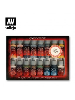 Vallejo: Game Color Leather And Metal (16)