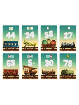 Game Of Trains cartes