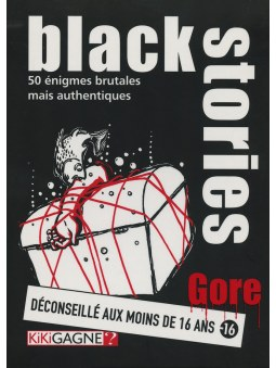 Black Stories - Gore jeu