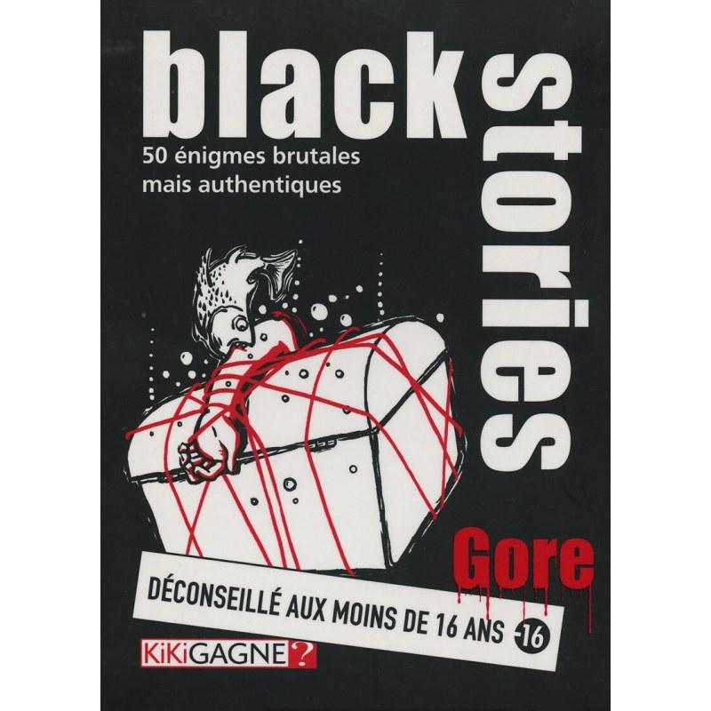 Black Stories - Gore jeu