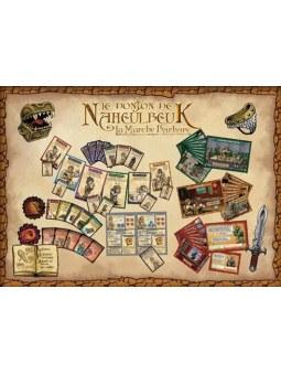 La Marche Barbare extension Le donjon de Naheulbeuk contenu