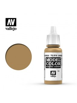 Vallejo: Model Color Green Ochre (17ml)