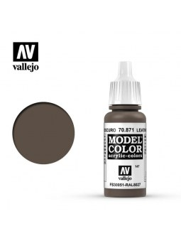 Vallejo: Model Color Leather Brown (17ml)