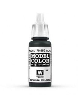 Vallejo: Model Color Matt Black (17ml)