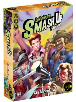 Smash Up Extension Ces Années La jeu