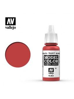 Vallejo: Model Color Scarlet (17ml)