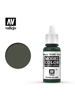Vallejo: Model Color Yellow Oliva (17ml)