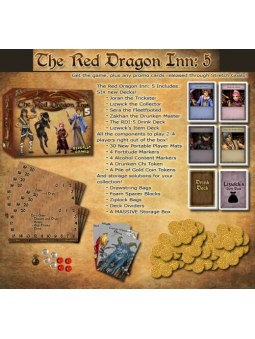 Red Dragon Inn 5: The Character Trove contenu