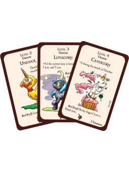 Munchkin Unicorn and Friends cartes