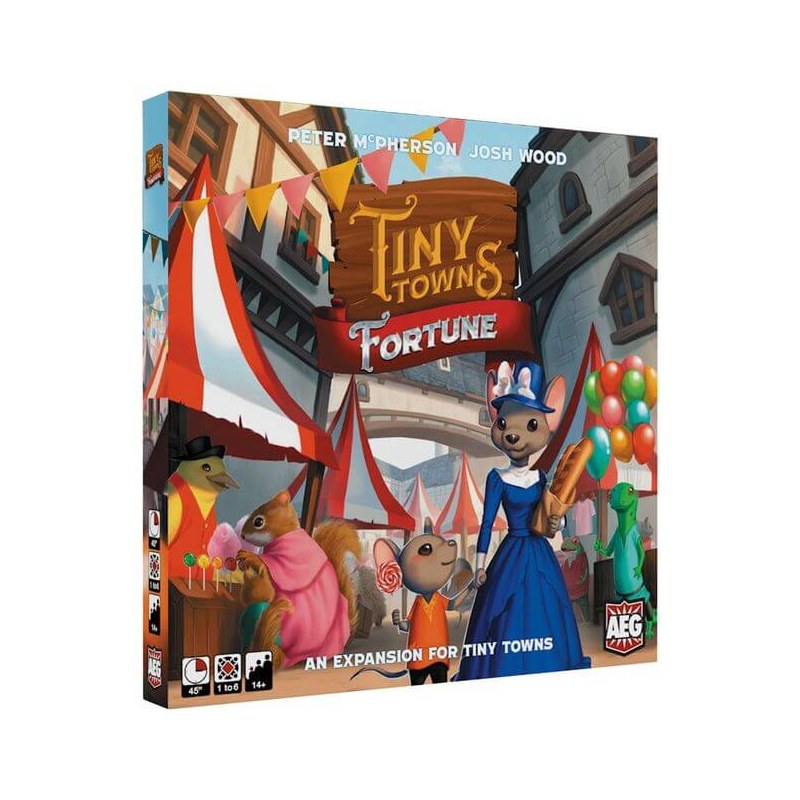 Tiny Towns: Fortune jeu