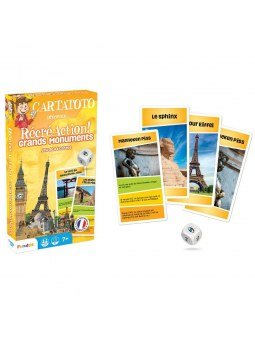 Recreaction : Grands Monuments jeu