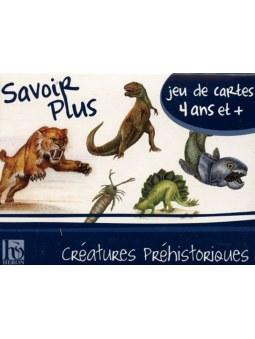 7 familles Créatures Préhistoriques jeu