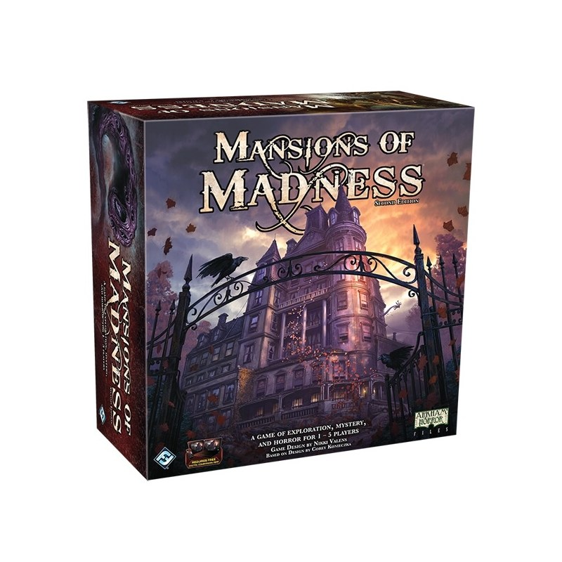 Mansions Of Madness 2nd Edition jeu