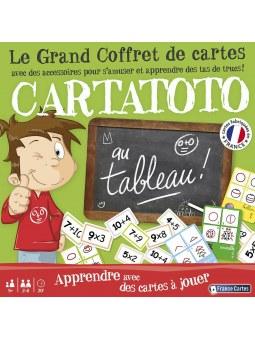 Cartatoto Au Tableau - Coffret 3 Jeux + Accessoires jeu