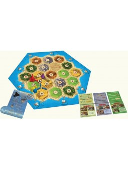 Catan Extension: Cities & Knights plateau