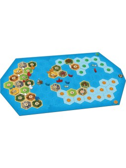 Catan Extension: Explorers & Pirates plateau