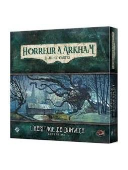 Horreur a Arkham  le jeu de cartes extension L'heritage De Dunwich jeu