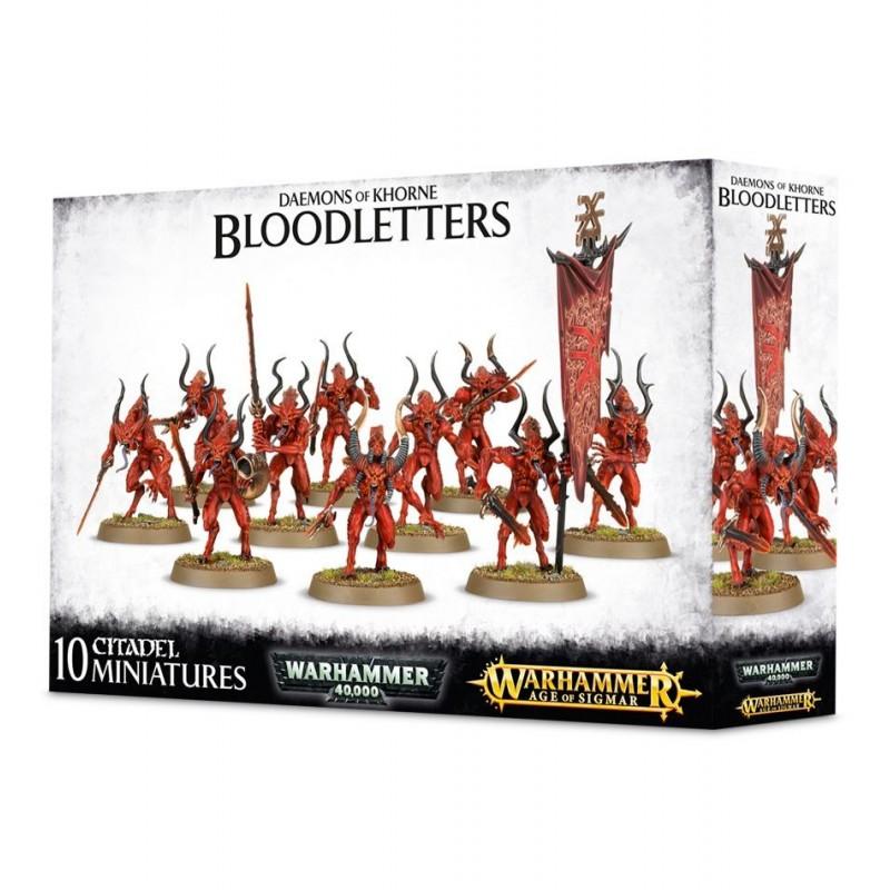 AOS : Démons de Khorne - Bloodletters